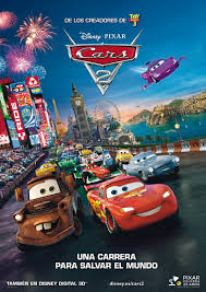 Cars 2 3D Anaglifo