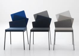 furniture karina modern dining chair with unique backrest shaped