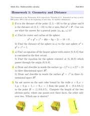 Multivariable Calculus Study Resources
