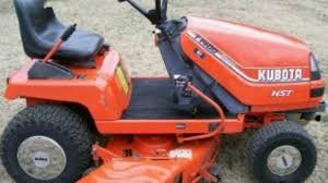 kubota t1400 t1400h lawn tractor service repair factory manual