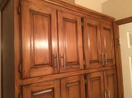 golden oak cabinets enhanced with mahogany gel stain gel stain