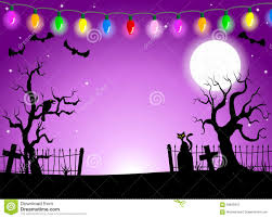 spooky halloween background free scary halloween background with cemetery in the dark night stock