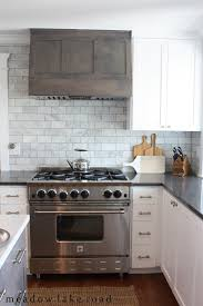 Rustic Kitchen Backsplash Backsplashes Awesome Rustic Kitchen With White Cabinets With