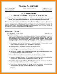 Ecommerce Resume Sample by 3 Example Sales Resumes Addressing Letter