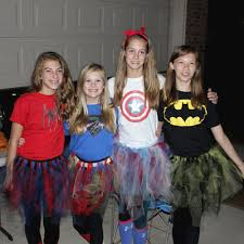 teen tween power costume idea diy easy group costume