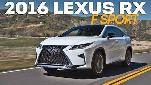 lexus f sport price 2016 lexus rx 350 f sport youtube