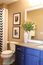 Painting Bathroom by Painting Bathroom Cabinets Blue Resmi Bathroom Decoration