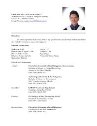 Breakupus Unusual Job Resume Sample Philippines     Break Up Breakupus Unusual Job Resume Sample Philippines Mainstreamresumeprocom With Heavenly Job Resume Sample Philippines With Amazing Field Service Engineer