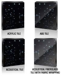 led and fiber optic lighting by wiedamark star ceiling panels