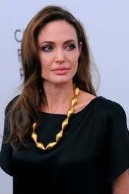 angelina jolie gold necklace b