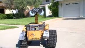 Robotic Wall First Ever Life Size Remote Controlled Robotic Replica Of Wall E