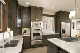 ample dark kitchen cabinets with light island mixed white window ample dark kitchen cabinets with light island mixed white window blind elegant homes showcase