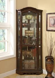 Oak Curio Cabinet Curio Cabinet Curioinet Free Plans For Corner Modern Rent To Own