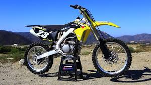 motocross action magazine subscription first ride 2016 suzuki rmz 250 motocross action magazine youtube