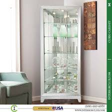 Modern Furniture Buffalo Ny by Curio Cabinet Oak Corner Curio Cabinets Near Buffalo Ny Sale