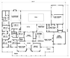 6 bedroom single story house plans house plans