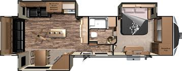 Fleetwood Bounder Floor Plans by Interesting Rv Floor Plans 2016 Kz With Inspiration Decorating