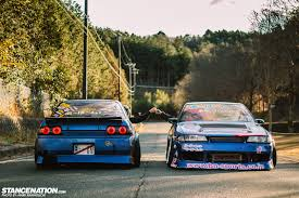 nissan skyline drift car team a bo moon meet the og u0027s stancenation form u003e function