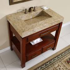 Modern Walnut Bathroom Vanity by Bathroom Lavish Glass Cabinet Above Venice Walnut Of Bathroom