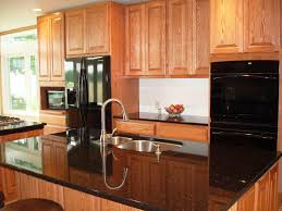 Kitchen Oak Cabinets by Kitchen Kitchen Color Ideas With Oak Cabinets And Black