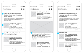 how we built the new propublica mobile apps features source