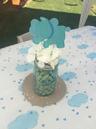 Boy Baby Shower Centerpieces by Elephant Little Peanut Baby Shower Centerpiece Baby Shower