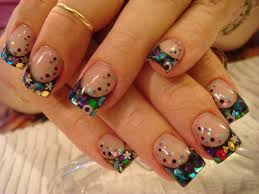 pretty nail designs for acrylic nails how you can do it at home