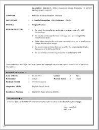 cv  standard cv format sample boff f si standard cv format sample