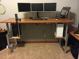 Affordable Sit Stand Desk by Build A Sitting Standing Desk Best Home Furniture Decoration