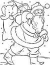 FUN & LEARN : Free worksheets for kid: ภาพระบายสี วันคริสต์มาส ซาน ...
