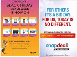 black friday preview amazon snapdeal vs amazon