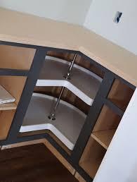 Ana White Easier  Corner Base Kitchen Cabinet Momplex - Corner kitchen base cabinet
