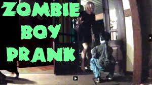 morphsuit spirit halloween limb eating zombie boy halloween prank youtube