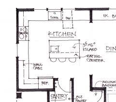 what do you think of this kitchen layout floor plan door design
