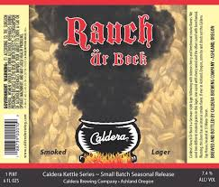 Caldera Brewing Ashland Oregon Canning Craft Beer -22 Ounce Bottles