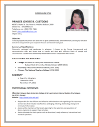 Examples Of Resumes Simple Job Resume Examples Resume For Your Job Application