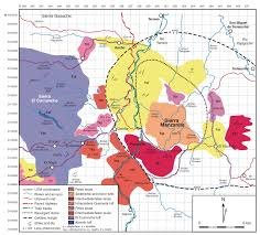 Sierra Madre Occidental Map Major Ignimbrites And Volcanic Centers Of The Copper Canyon Area
