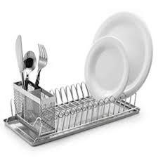 Polder Compact Dish Rack The Home Depot - Kitchen sink dish rack