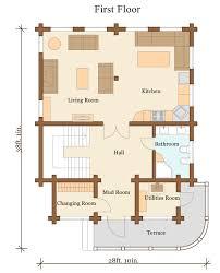 6000 sq ft log home plans