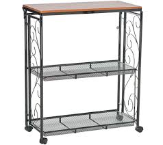 Dolly Madison Kitchen Island Cart Kitchen Carts U2014 Storage U0026 Organization U2014 Kitchen U0026 Food U2014 Qvc Com