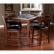 Craftsman Style Dining Room Furniture Steve Silver 5 Piece Tournament Dining Game Table Set With Caster