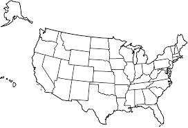 Arizona Us Map by Map Of The United States With Title And States Coloring Page