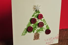 make it pretty wednesdays cute christmas cards that kids can make