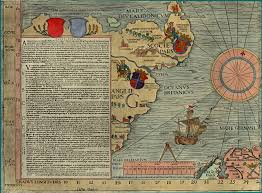 G Map Section G Olaus Magnus 1539 Map Of Scandinavia Bell Library
