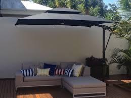 Offset Patio Umbrella by Outdoor Impressive Great Rectangular Patio Umbrella For Home