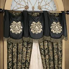 imperial damask swag valance and curtains