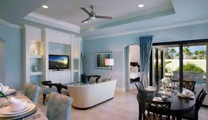 Interior Design Kitchen Living Room Light Blue Walls Rendering Living Room Youtube