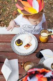 Thanksgiving Picnic Ideas A Thanksgiving Kids Table With Astrobrights Lay Baby Lay