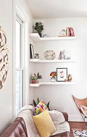 White Short Bookcase by Best 25 Corner Bookshelves Ideas On Pinterest Building