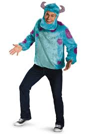 Monsters Baby Halloween Costumes Monsters Deluxe Sulley Costume